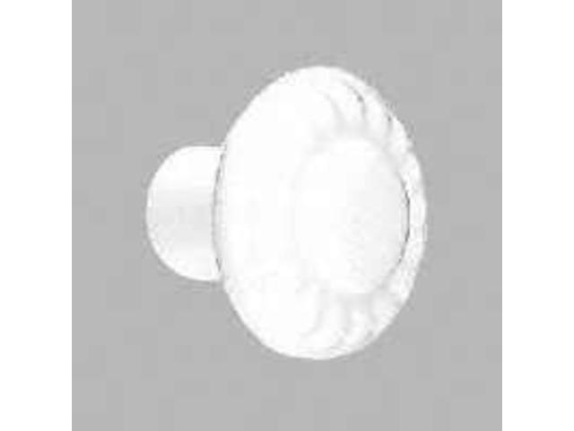 Amerock BP1321-W 1.38 in. Knob - White