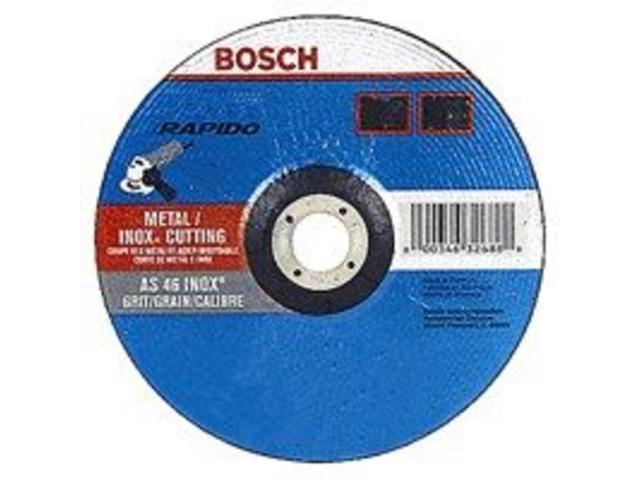 Whl Cut 5In 0.04In 60 7/8In Bosch 5 To 7 Inch Wheels TCW27S500 ALUMINUM OXIDE