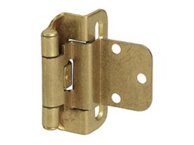 Hng Cab 3Hl 2-1/4In 1-3/4In AMEROCK CORP Cabinet Hinges - Self Closing BP7565BB