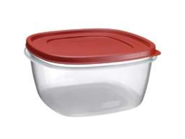 Rubbermaid 14 Cup Easy Find Lid Square Food Storage Container  1777161