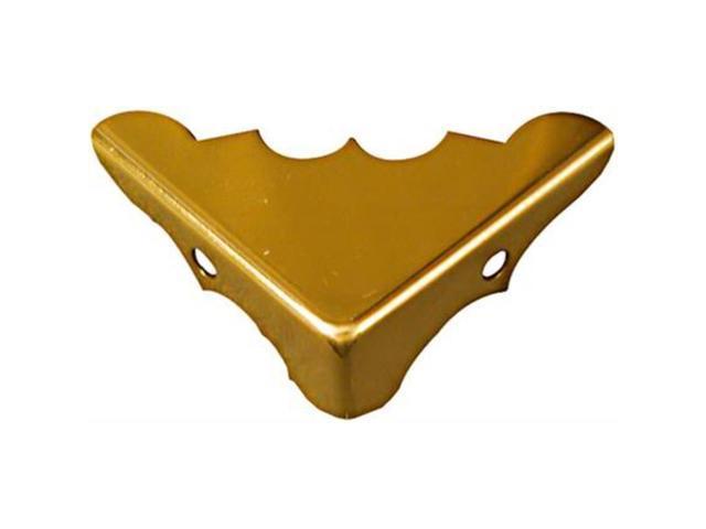 Solid Brass Corners 9/16