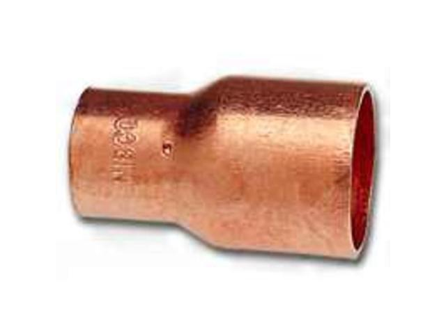 3/8X1/4 Wrot Copper Coupling ELKHART PRODUCTS CORP Copper Couplings 30688