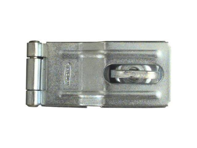 "National Zinc Plated 3-1/4"" Swivel Staple Safety Hasp NATIONAL Hasps N226-480"