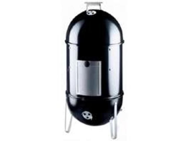 "18.5""Smokey Mntn Cooker Smoker WEBER-STEPHEN Smokers 721001 Black 077924081576"