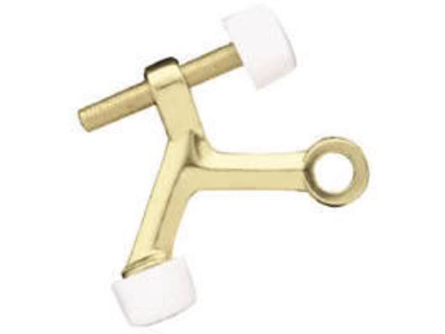 Brainerd Polished Brass Hinge Pin Doorstop 69091 Brainerd Doorstops 69091