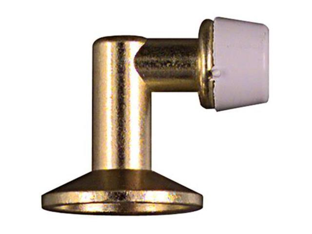 National Brass Finish Floor Door Stop NATIONAL Door Stops N187-666 Solid Brass