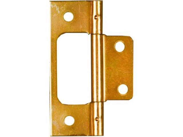 "Brass Finish 3"" Surface Mounted Bi-Fold Door Hinges NATIONAL N146-951 Brass"
