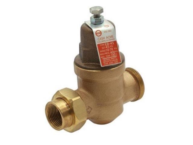 1in pressure regulator lf cash acme pressure regulating valves eb 45u 1. Black Bedroom Furniture Sets. Home Design Ideas