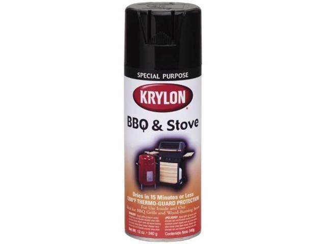 krylon interior exterior high heat barbeque black enamel. Black Bedroom Furniture Sets. Home Design Ideas