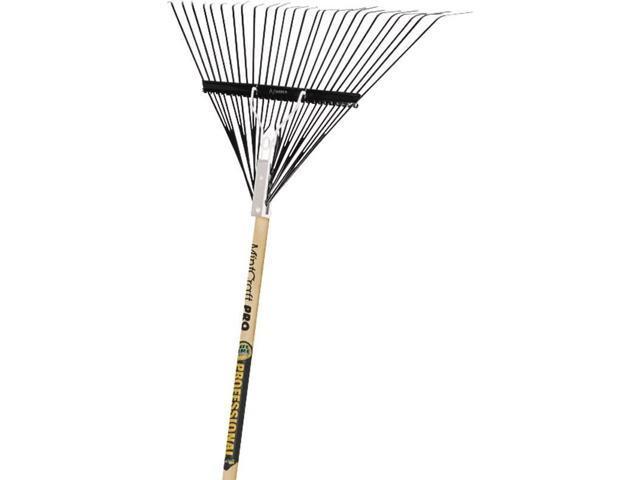 Leaf Rake 26 Steel Tine Pro Wd MINTCRAFT PRO Leaf Rakes 33250 755625012166
