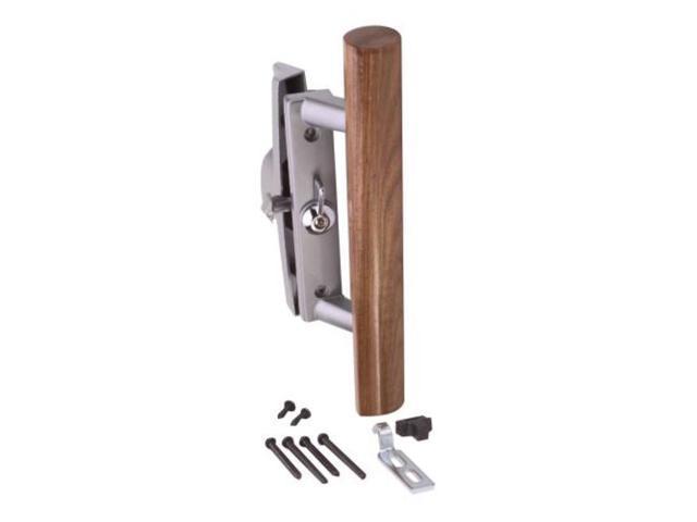 Patio door lock and handle less key lock strybuc sliding for Patio door handle lock