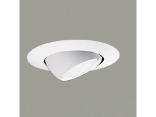 Cooper Lighting 78P 6-Inch Satin White Eyeball Non-Ic/Ic