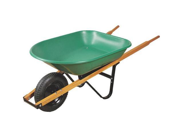 Wheelbarrow Steel 4Cu Kit Mintcraft Wheelbarrows WB4SLS 755625018083