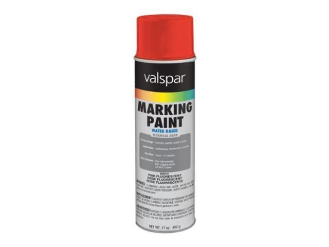 Fluorescent Pink 17 Oz Marking Paint Valspar Spray Paint 82014 Fluorescent Pink