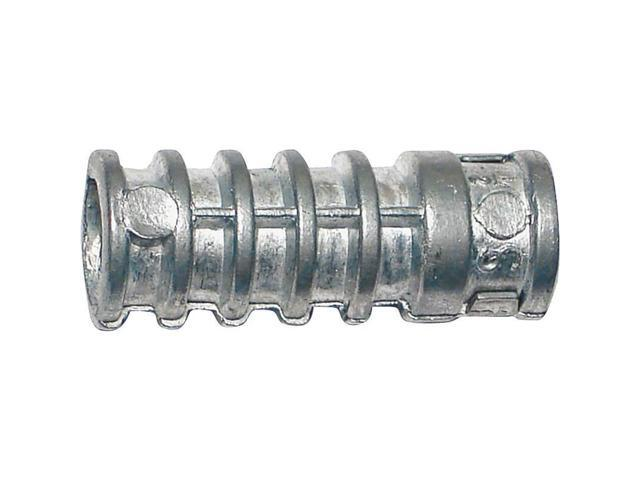 "Short Lag Shield, 3/8"", Lead Alloy, Zinc Plated MIDWEST (STOCK SALES) 04177"