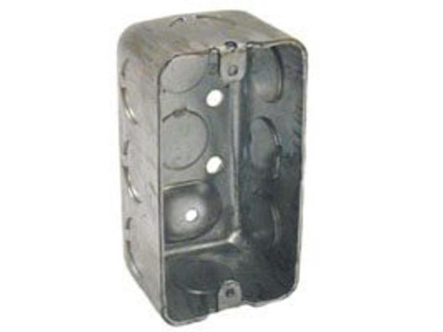 Steel Utility Box 1-7/8In Raco Octagon Boxes 8660 050169006603