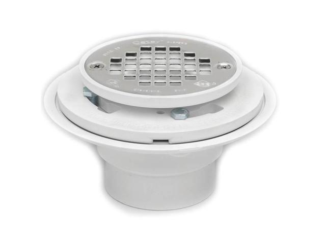 2 low profile shower drain oatey tub and shower drains for Low profile bath tubs