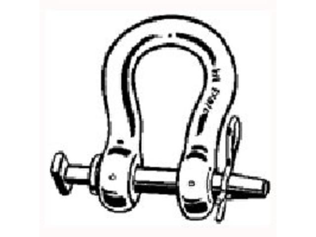 Farmex/Speeco 49010400 Straight Clevis 3/4 X 3-3/4-Inch - Each