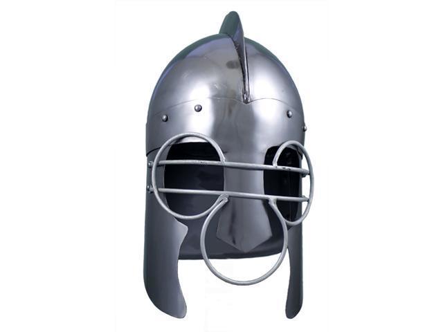 Medieval Wire Face Titus Helmet - Battle Helm