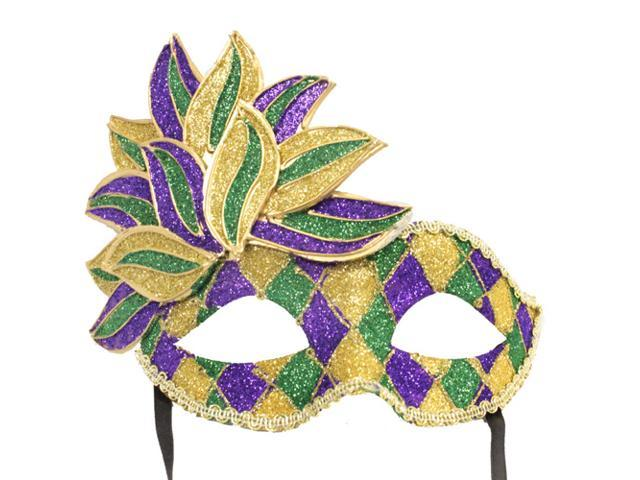 CARNIVAL STYLE MASK - Venetian Party Masks - MARDI GRAS