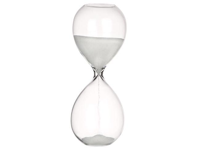 GLASS HOURGLASS - Colored Sand - 10 MINUTE SANDTIMER