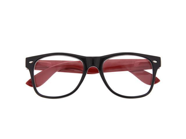 8f0063a5393 Two Tone Wayfarer Style Sunglasses