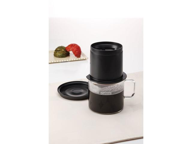 One Cup Coffee Maker With Permanent Filter : Hario One Cup Cafeor Permanent Filter Drip Brew Coffee Maker CFO-1B-Newegg.com