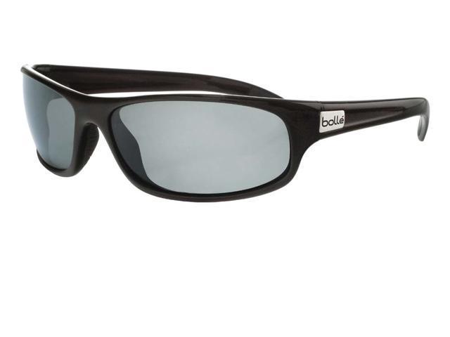 Bolle Anaconda Sunglasses - Shiny Black Frame, TNS Lens 10339