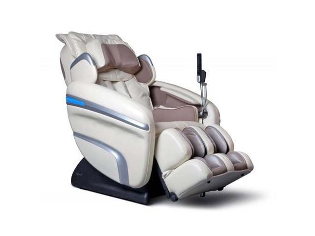 Osaki OS7200H Executive Zero Gravity Strack Heating Massage Chair Cream Recliner