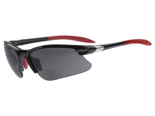dual power eyewear sl2 pro black frame smoke lens 1 50