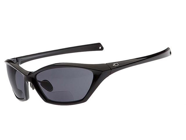 dual power eyewear r4 black with smoke lens 1 50 reading