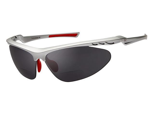 dual power eyewear vr1 silver frame smoke lens 1 50