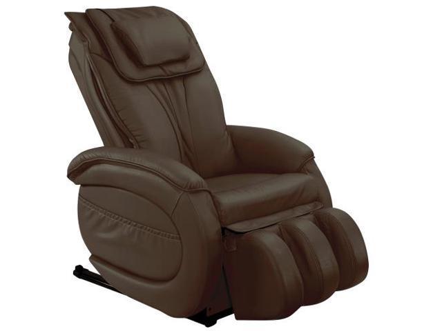 Infinity IT-9800 Dark Brown Zero-Gravity Leather Massage Chair Infinite IT9800