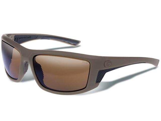 Gargoyles Eyewear Stance Tan Frame With Brown Polarized Lens