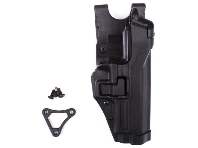 BLACKHAWK 44H106BK-R Serpa Duty Holster,Right,Sig 220/225