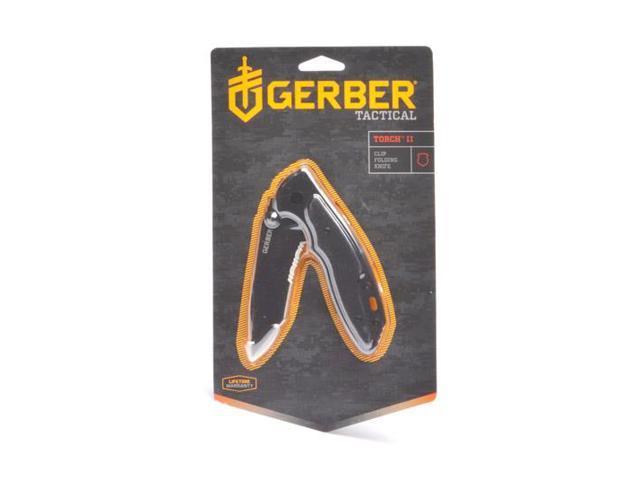 Gerber Torch II - Tanto G-10 Black, Serrated 22-41586