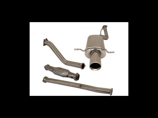 TurboXS for WRX / STi Catless Std Turbo Back Exhaust TBE