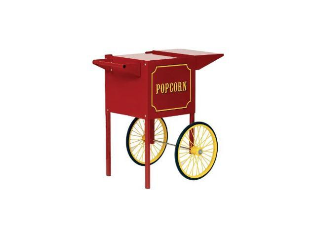 Paragon Popcorn Push Cart Small Red Merchandiser Concession Snack Stand 3080010