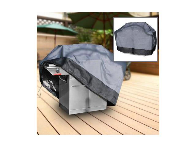 Barbeque Gas Propane Grill Cover Gray Small 44