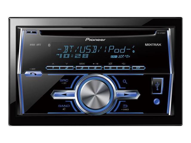 Pioneer FH-X700BT Car CD Player FHX700BT Double Din Built in Bluetooth FHX700BTB