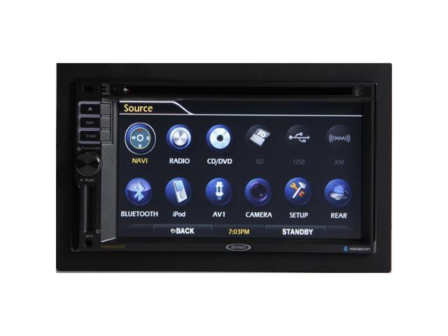 "Jensen VM9424BT Navigation Receiver w/ 6.2"" Monitor and Built in Bluetooth"