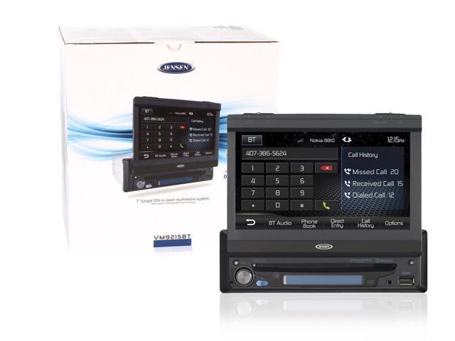 """Jensen VM9215BT 7"""" Monitor with DVD Receiver & Bluetooth"""