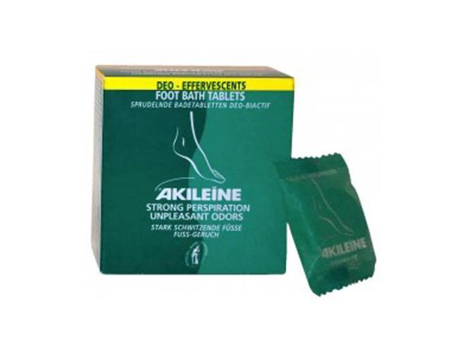 Akileine Footbath Deo-effervescent Tablets for Perspiration odor - Small, .4 oz.