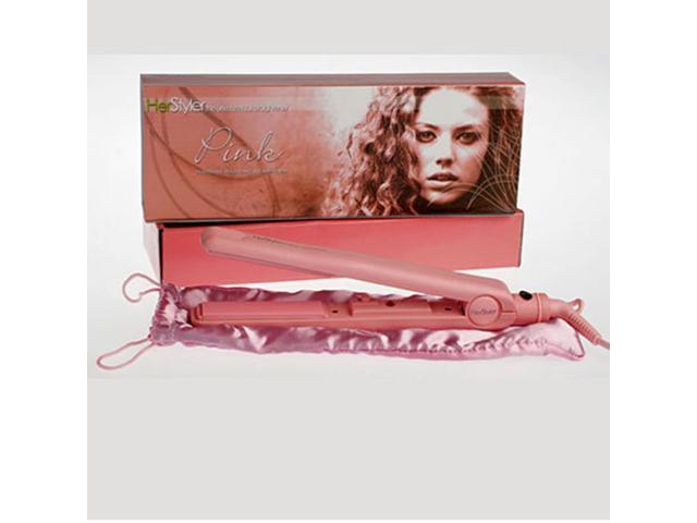Le Angelique Turbo Hair Straightener Pink