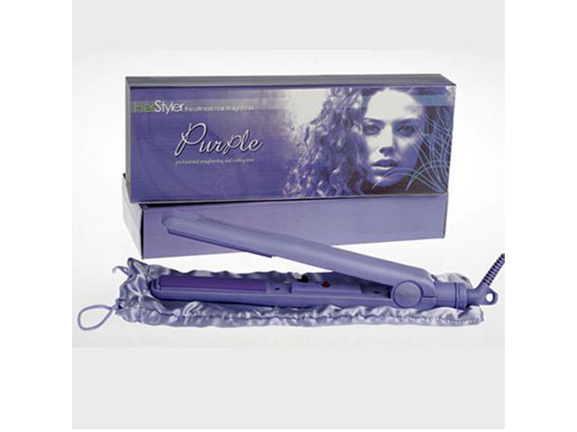 Le Angelique Turbo Hair Straightener Purple