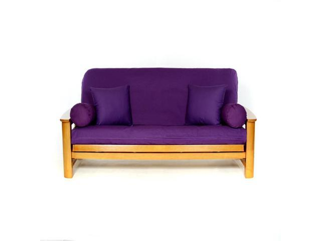 Ls Covers Purple Full Futon Cover Full Size Fits 6 8in