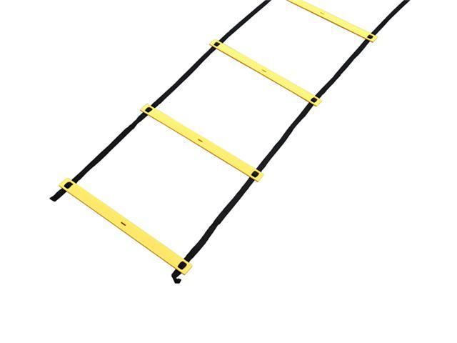 Soozier 15' Flat Rung Speed Drill Training Agility Ladder w/ Carrying Bag