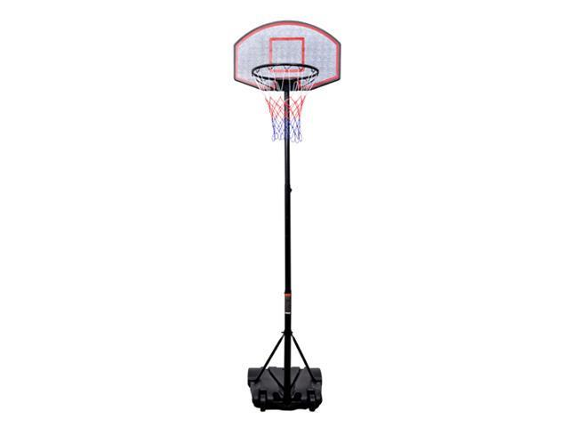 Outsunny Youth Indoor / Outdoor Adjustable Height Portable Basketball Hoop Set