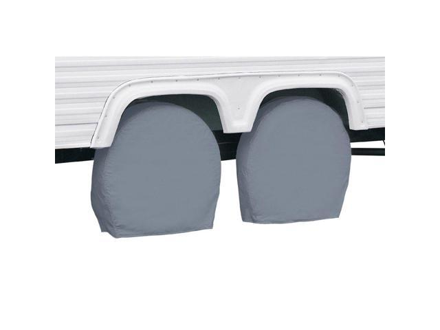 RV Wheel Cover In Grey Model 3 - Classic# 80-084-161001-00