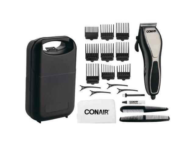 CONAIR HCT21 Cut N' Detail 24-Piece Chrome Haircut Kit